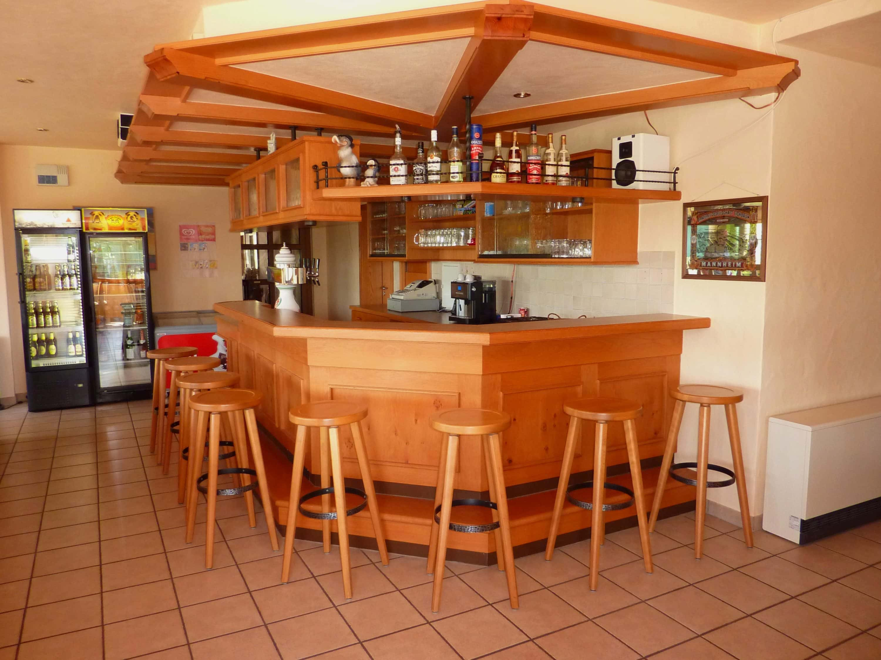 Bar im Restaurant